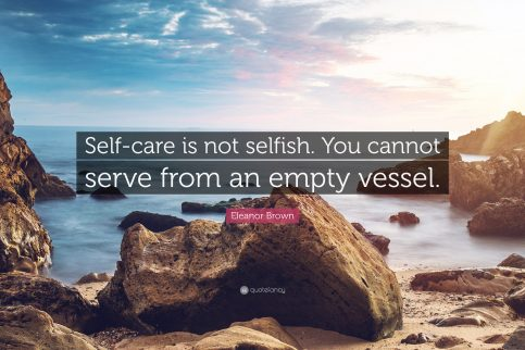 Self Care is not Selfish | Champaign Counseling